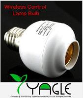 E27 10M Screw Wireless Remote Control Light Lamp Bulb Holder Cap Socket Switch 110v-250v