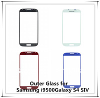 Original Outer Glass FOR Samsung Galaxy S4 SIV GT-i9500 i9500 Screen Replacement Front Lens LCD Digitizer Touch Screen NP00628