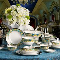 28 bone china set bowl set fashion ceramic tableware wedding gifts