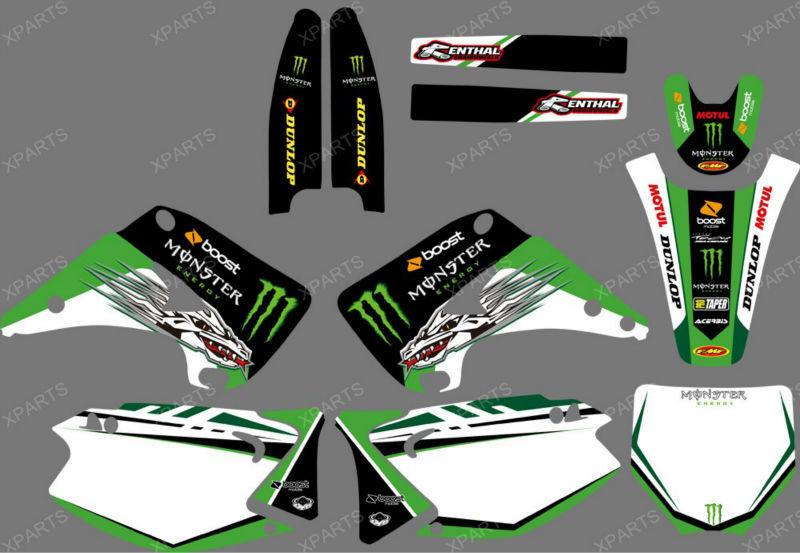 Stickers 125 kx Kawasaki 125 kx Motocross