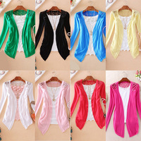 Candy Color Knitting small coat