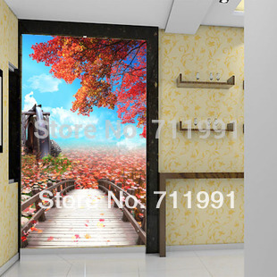 Free shipping 3d aesthetic mural wallpaper tv wall for Decorative mural painting