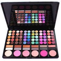 2014 Hot Make up kit set 60 colors eyeshadow lipstick blusher makeup bursh tool W015