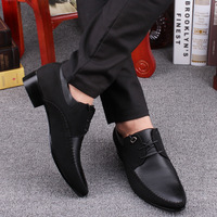 fashion vintage pointed toe men dress and loafer oxford  shoes