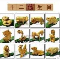 Free shipping  Zodiac ornaments / Creative Gifts / Rat Ox Tiger Rabbit snakes Pig Horse Goat Monkey Jigou