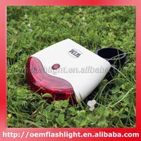 BRL-101 4-Mode Smart Bike Rear Light with Induction Brake Warning Function (2 x AA)
