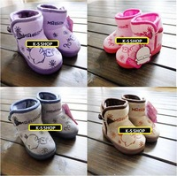 Mashimaro rabbit scampish child winter cotton-padded shoes at home thermal boots home shoes baby cotton-padded shoes
