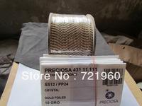 Promotions ss12/pp24 Preciosa rhinestone strass cup chain 198pcs/m no plating