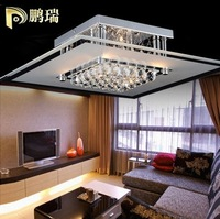 Free shipping, 36cm luxury crystal ceiling light lamp,modern simple light for bedroom,living room,artical k9 crystal light