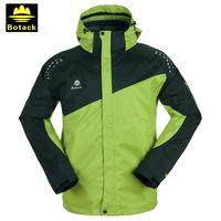 Botack outdoor jacket , windbreaker, fleece liner windproof waterproof outdoor jacket LMT2-2078