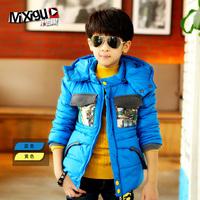 Children's clothing winter 2013 child cotton-padded jacket big boy design short outerwear m7c316 male child winter wadded jacket