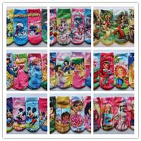 12pairs/lot kids cartoon Dora Super mario cotton socks children cartoon socks boys and girls cartoon socks for 2 to 5 years