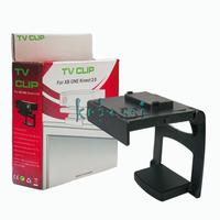 Plastic Sensor TV Clip Mount Holder for Microsoft Xbox One Kinect 2.0 Black Free Shipping