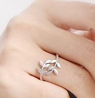 Sakura's Store R1184 fashion accessories branches leaves the ring