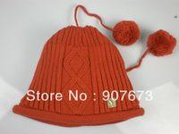 Free shippingWinter SKI Stretch Knit Beanie FOX Hat Women Cap Soft Warm Tow Functional EC7O