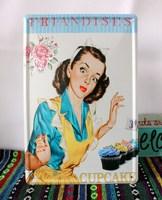 Cupcake Vintage metal signs wedding decor home bar cafe Pub wall decor iron painting E-55 20*30cm Freeshipping