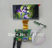 HDMI+2AV+VGA+Rear View Contro Board+7inch AT070TN93 800*480 TFT LCD Display