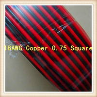 100m/lot 2pin cable for single color led strip 18AWG Copper 0.75 Square Free shipping
