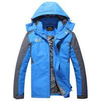 Plus size clothing plus size men's plus velvet thickening jacket plus size outdoor jacket outerwear top fat 8XL
