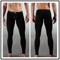 N2 n male underwear 100% cotton thin warm pants trousers long johns jeans basic underpants
