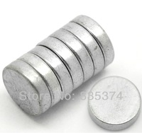 Wholesale 30 PCs Silver Tone Super Strong Neodymium Hematite Round Magnets 11mm