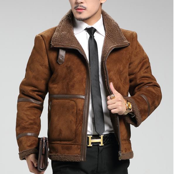 Mens Designer Leather Jacket