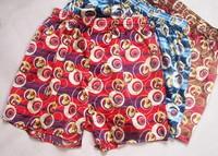 New  men  boy homewear the simpsons cartoon underwear briefs men's boxer shorts ice silk pants for adult and children