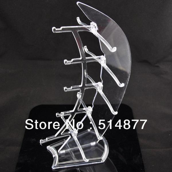5layer Sails Sunglass Racks Display Stands Rack Holder white Upick(China (Mainland))
