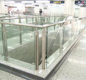 Aço inoxidável vidro Trilhos para o vidro Veranda / corrimão(China (Mainland))