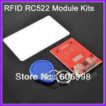 5set lot RC522 RFID Module IC Card S50 Fudan Cards Key Chains for Arduino Provide Development