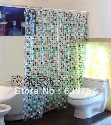 online kaufen gro handel mosaic shower curtain aus china. Black Bedroom Furniture Sets. Home Design Ideas