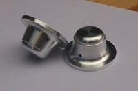 1pcs Diameter 44mm height 22 full aluminum alloy solid volume knob potentiometer volume knob audio amplifier knob