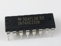 5PCS  74HC251N  DIP,  8-input multiplexer; 3-state