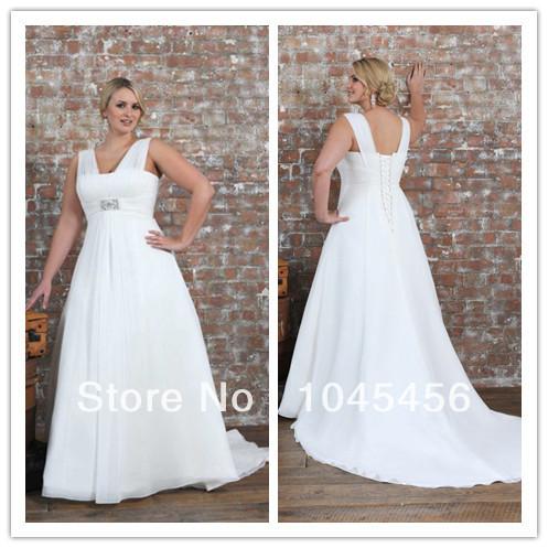 Flowing Plus Size Wedding Dresses Gown Plus Size Flowing