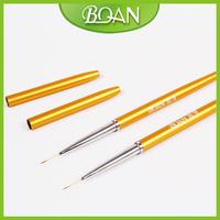 2014 New Designs Nail Beauty Brush Nail Liner Brush With Cap Nail Art Brush Nylon