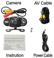 Universal Car Rearview Camera Car Backup Camera with waterproof night vision NO.CA409