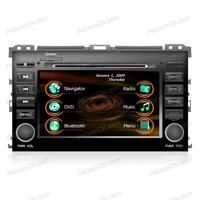 Autoradio Car Stereo DVD GPS Navigation Multimedia System for Toyota Prado 2009 + Free Rearview Camera