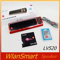 2014 New Generation 3 LV520  multimedia speaker audio hifi mini speaker mp3 player portable speaker insert card Speaker