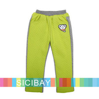 2014 Winter New Boy Casual Pants Leisure Wear Children Bright Color  Pants,Free Shipping K4354