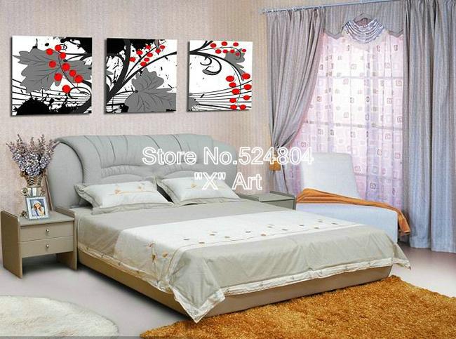 Online kopen wholesale rode grijze woonkamer uit china rode grijze woonkamer groothandel - Grijze en rode muur ...