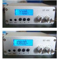 ST-05C 0.1W/ 0.5W home FM transmitter stereo pll radio broadcast 77-108MHZ