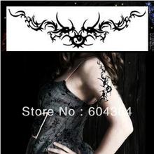 10pcs (5pairs) Hot Sale Angra Dragon Temporary Tattoo Sleeves Stretchy ...