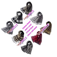 fashion designer  men scarf spring autumn winter long scarves pashmina shawl wrap