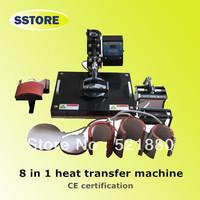 8 in 1 mug printing machine heat press machine heat transfer machine sublimation printer for mug press&cup