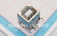 USB / USB B mother female  90  iron shell  The degree of  90  1000pcs/lot Free shipping