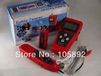 Free Shipping NEW NOYAFA NF-306 Multipurpose LCD Display RJ45 RJ11 USB BNC test Inspection CABLE LENGTH TESTER TRACKER