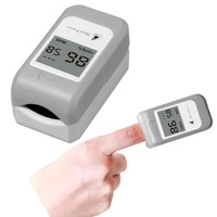 FDA CE Dual Colors Fingertip Pulse Oximeter Oximeter Oxygen Monitor Pulse Rate