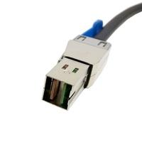 External Mini SAS HD 4x SFF-8644 to mini sas High Density HD SFF-8644 data server Raid Cable 100cm