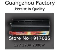 Car Inverter Battery Inverter 12V 220V 2000W,12V Car Battery Charger 2000W,Car Tools Car Accessories,Without Digital Display