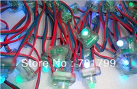 100nodes DC12V input TM1804 pixel node,IP68 rated;red-green-blue wire;epoxy resin filled